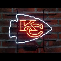 Kansas City Chiefs Neon Sign Neon Sign