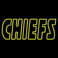 Kansas City Chiefs Wordmark  Pres Logo NFL Neon Sign Neon Sign
