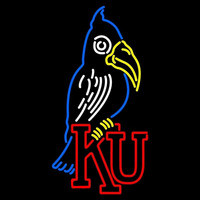 Kansas Jayhawks Primary 1920 1922 Logo NCAA Neon Sign Neon Sign