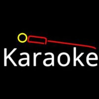 Karaoke And Microphone 1 Neon Sign