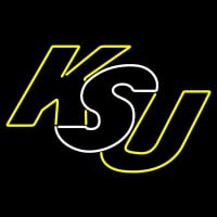 Kennesaw State Owls Wordmark Logo NCAA Neon Sign Neon Sign