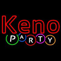 Keno Party Neon Sign