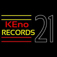 Keno Records 21 2neon Sign Neon Sign