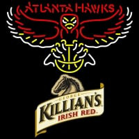 Killians Atlanta Hawks NBA Neon Beer Sign Neon Sign