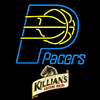 Killians Indiana Pacers NBA Beer Sign Neon Sign