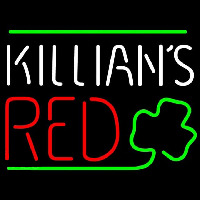 Killians Red Shamrock Beer Sign Neon Sign