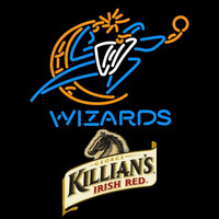 Killians Washington Wizards NBA Beer Sign Neon Sign
