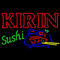 Kirin Beer And Sushi Beer Sign Neon Sign