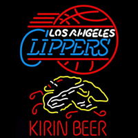 Kirin Los Angeles Clippers NBA Beer Sign Neon Sign