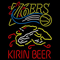 Kirin Philadelphia 76ers NBA Beer Sign Neon Sign