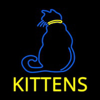 Kittens Cat Neon Sign