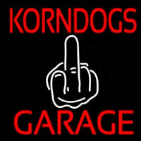 Kornogs Garage Neon Sign