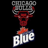 Labatt Blue Chicago Bulls NBA Beer Sign Neon Sign