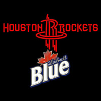 Labatt Blue Houston Rockets NBA Beer Sign Neon Sign