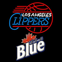 Labatt Blue Los Angeles Clippers NBA Beer Sign Neon Sign