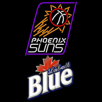 Labatt Blue Phoenix Suns NBA Beer Sign Neon Sign