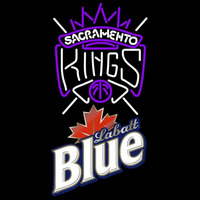 Labatt Blue Sacramento Kings NBA Beer Sign Neon Sign