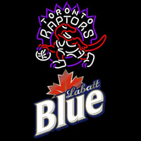 Labatt Blue Toronto Raptors NBA Beer Sign Neon Sign