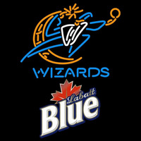 Labatt Blue Washington Wizards NBA Beer Sign Neon Sign