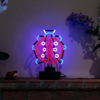 Ladybird Desktop Neon Sign