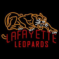 Lafayette Leopards Primary Pres Logo NCAA Neon Sign Neon Sign
