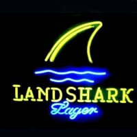 Land Shark Neon Sign
