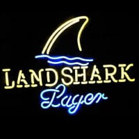 Landshark Lager Beer Neon Sign