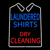 Laundered Shirts Neon Sign