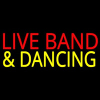 Live Bands 1 Neon Sign