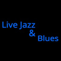 Live Jazz And Blues Neon Sign