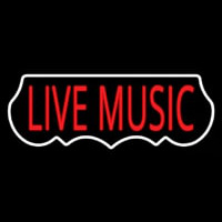 Live Music Red 1 Neon Sign