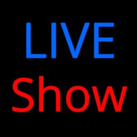 Live Show Neon Sign