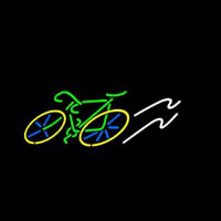 Logo Bicycle Neon Sign