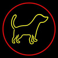 Logo Dog 3 Neon Sign