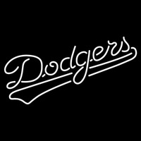 Los Angeles Dodgers Alternate 1972 Pres Logo MLB Neon Sign Neon Sign