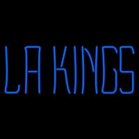 Los Angeles Kings Wordmark Logo Nhl Neon Sign Neon Sign