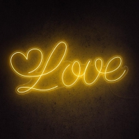 Love Word Neon Sign