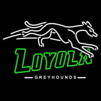 Loyola Maryland Greyhounds Primary Pres Logo NCAA Neon Sign Neon Sign