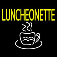 Luncheonette With Coffee Neon Sign