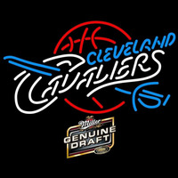 MGD Cleveland Cavaliers NBA Beer Sign Neon Sign