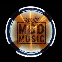 MGD Miller Genuine Draft Drum Symbol Beer Sign Neon Sign