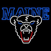 Maine Black Bears Primary Pres Logo NCAA Neon Sign Neon Sign