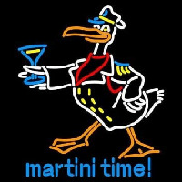 Martini Time Neon Sign