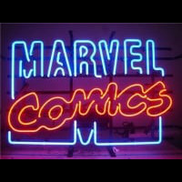 Marvel Comics Neon Sign
