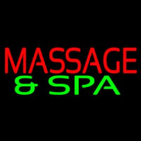 Massage And Spa Neon Sign