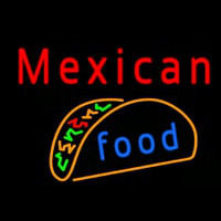 Me ican Food Neon Sign