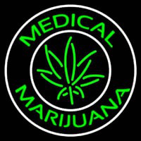 Medical Cross Marijuana Neon Sign