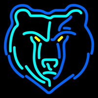 Memphis Grizzlies Alternate 2004 05 Pres Logo NBA Neon Sign Neon Sign