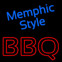 Memphis Style Bbq Neon Sign
