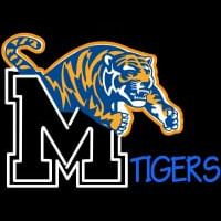 Memphis Tigers Neon Sign logo Neon Sign
